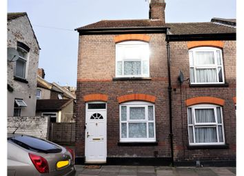 Thumbnail 2 bedroom end terrace house for sale in Cowper Street, Luton