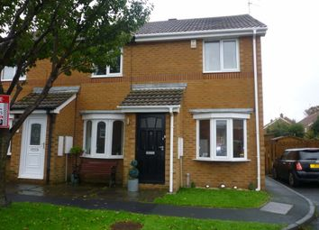 Thumbnail 2 bed terraced house to rent in Marden Court, Seaton Sluice, Whitley Bay