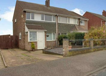 Thumbnail 3 bed semi-detached house to rent in Laughton Road, Beverley