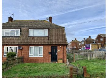 Thumbnail 2 bed semi-detached house for sale in Walters Road, Rochester