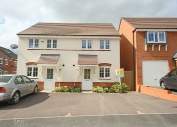Thumbnail 2 bed semi-detached house for sale in Kielder Drive, Yarnfield, Stone