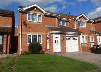 Thumbnail 4 bedroom semi-detached house for sale in Rainer Close, Stratton St. Margaret, Swindon