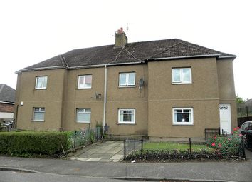 Thumbnail 2 bed flat for sale in Stanistone Road, Carluke