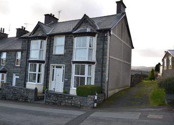 Thumbnail 4 bed end terrace house for sale in Trawsfynydd, Blaenau Ffestiniog