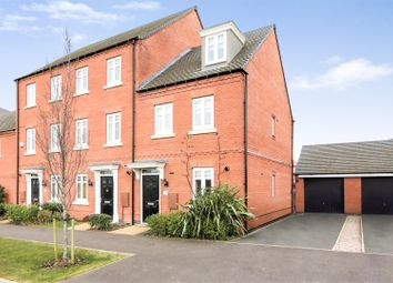 Thumbnail 3 bedroom town house for sale in Templar Road, Ashby-De-La-Zouch