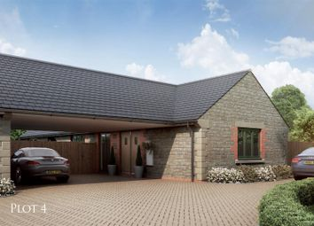 Thumbnail 2 bed bungalow for sale in Plot Four, Stableyard Close, Barleythorpe, Oakham