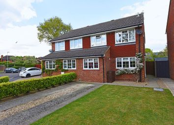 Thumbnail 4 bed semi-detached house for sale in Jubilee Close, Pamber Heath, Tadley