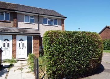 Thumbnail 2 bed end terrace house for sale in Muggeridge Road, Dagenham