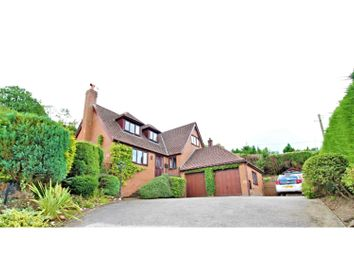 Thumbnail 4 bed detached house for sale in Ruthin Road, Gwernymynydd