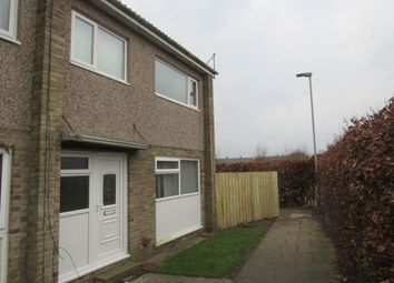 Thumbnail 3 bed terraced house to rent in Lichfield Close, Ashington