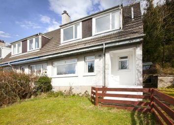 Thumbnail 2 bed end terrace house for sale in Westfield, Strone, Dunoon, Argyll And Bute
