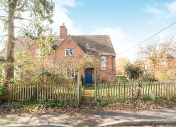 Thumbnail 4 bed semi-detached house for sale in The Crescent, Goodworth Clatford, Andover