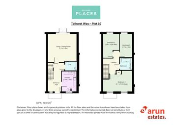 Thumbnail 3 bedroom terraced house for sale in Tolhurst Way, Lenham, Maidstone, Kent