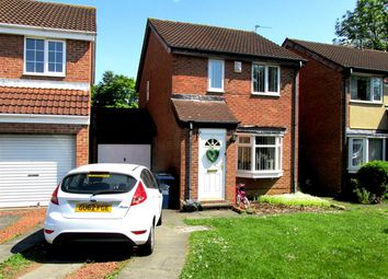 Thumbnail 3 bed detached house for sale in Cobalt Close, Newcastle Upon Tyne