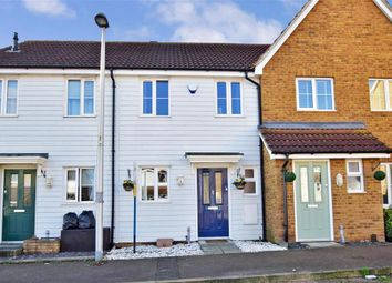 Thumbnail 2 bed terraced house for sale in Baryntyne Crescent, Hoo, Rochester, Kent