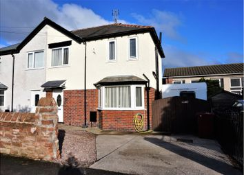 Thumbnail 3 bed semi-detached house for sale in Roose Road, Barrow-In-Furness