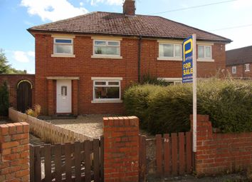 Thumbnail 3 bed flat for sale in Jobling Crescent, Morpeth