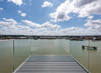 Thumbnail 3 bed flat for sale in Thameside House, Royal Wharf, Silvertown, London
