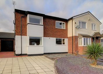 Thumbnail 4 bed semi-detached house for sale in Byron Street, Barwell, Leicester