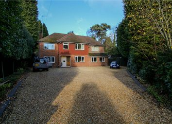 Thumbnail 4 bed detached house for sale in Claremont Avenue, Camberley, Surrey