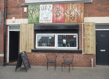 Thumbnail Commercial property for sale in Panuozzo's Cafe Bistro, 375 West Road, Fenham