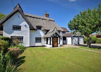 Thumbnail 5 bed farmhouse for sale in The Street, Little Dunmow, Dunmow