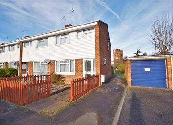 Thumbnail 3 bedroom end terrace house for sale in Eastrop, Basingstoke