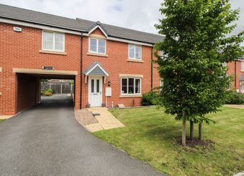 Thumbnail 3 bed town house for sale in Manor House Court, Stonegravels, Chesterfield