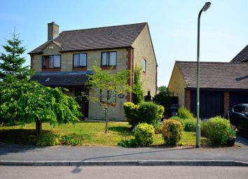 Thumbnail 4 bed detached house to rent in Garner Close, Carterton