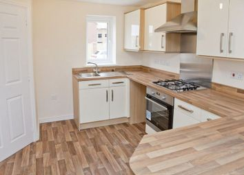 Thumbnail 3 bed town house to rent in Ferrous Way, North Hykeham, Lincoln