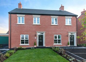 Thumbnail 3 bed semi-detached house for sale in Deer Park Lane, Butterley Park, Ripley