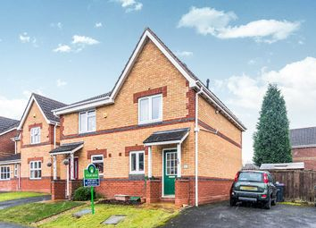 Thumbnail 2 bed semi-detached house for sale in Yellowstone Close, St. Georges, Telford