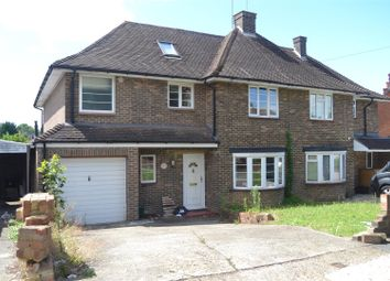 Thumbnail 4 bed semi-detached house for sale in Upland Way, Epsom