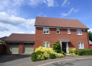 Thumbnail 4 bed detached house for sale in Upgate, Tharston