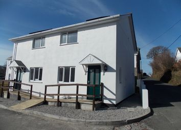 Thumbnail 2 bed semi-detached house to rent in Trefrew Road, Camelford, Cornwall