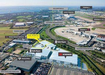 Thumbnail Warehouse to let in Scylla Road, Heathrow