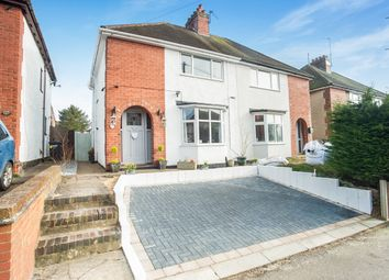 Thumbnail 3 bedroom semi-detached house for sale in Greening Road, Rothwell, Kettering