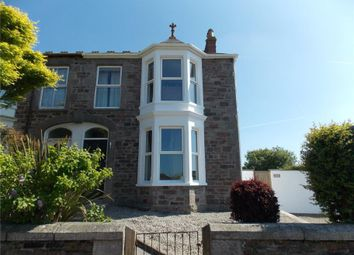 Thumbnail 3 bed semi-detached house for sale in Claremont Road, Redruth