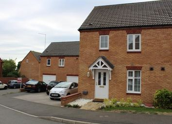 Thumbnail 3 bed semi-detached house for sale in South Meadow Close, Duston, Northamptonshire, Na