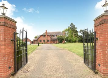 Thumbnail 4 bedroom detached house for sale in Warfield, Berkshire