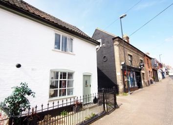 Thumbnail 1 bed semi-detached house for sale in Low Street, Crownthorpe, Wicklewood, Wymondham