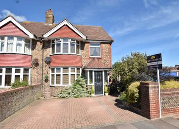Thumbnail 4 bed semi-detached house for sale in Astaire Avenue, Eastbourne