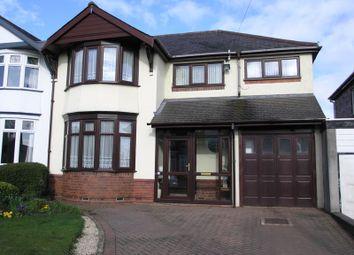 Thumbnail 4 bed semi-detached house for sale in St. Kenelms Avenue, Halesowen