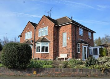 Thumbnail 3 bedroom semi-detached house for sale in Ambergate Drive, Leicester