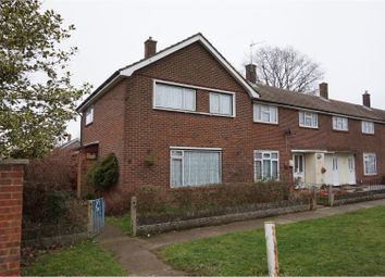 Thumbnail 3 bed end terrace house for sale in Ajax Road, Rochester
