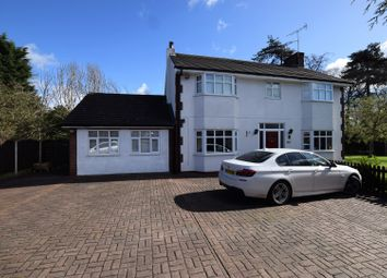 Thumbnail 4 bed detached house for sale in New Chester Road, Eastham