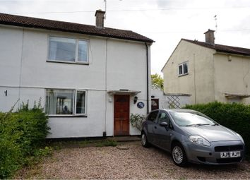 Thumbnail 2 bed semi-detached house for sale in Ormen Green, Leicester