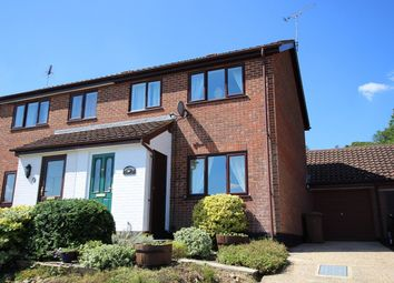 Thumbnail 3 bed semi-detached house for sale in Chequers Rise, Great Blakenham, Ipswich, Suffolk