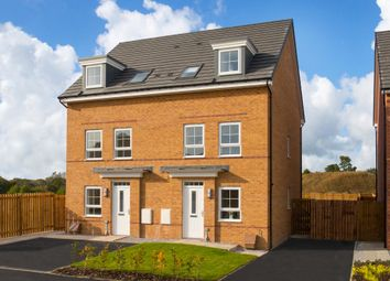 "Thumbnail 3 bed semi-detached house for sale in ""Padstow"" at Station Road, Methley, Leeds"