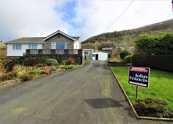 Thumbnail 4 bed detached bungalow for sale in Taliesin, Machynlleth